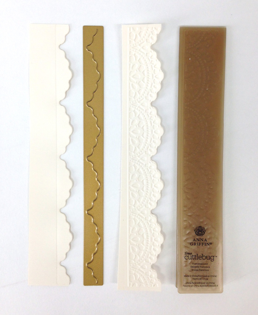 ivory embossed layers