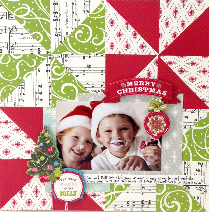 6x6 cardstock layout big