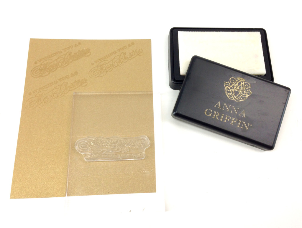 clear pigment stamp