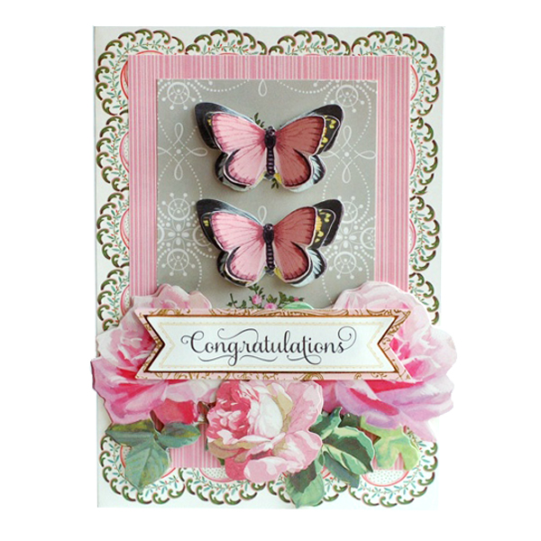 floral impressions card