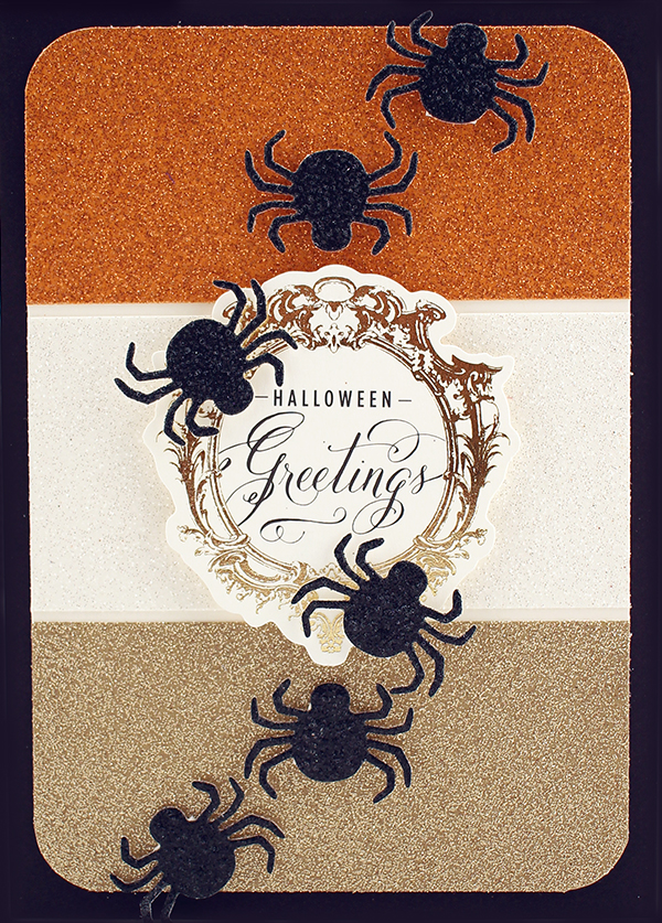 spooky glitter papers 2fb