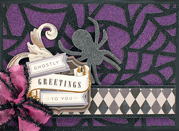 spooky glitter papers 4