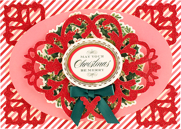 Christmas Glitter Stickers 5fb