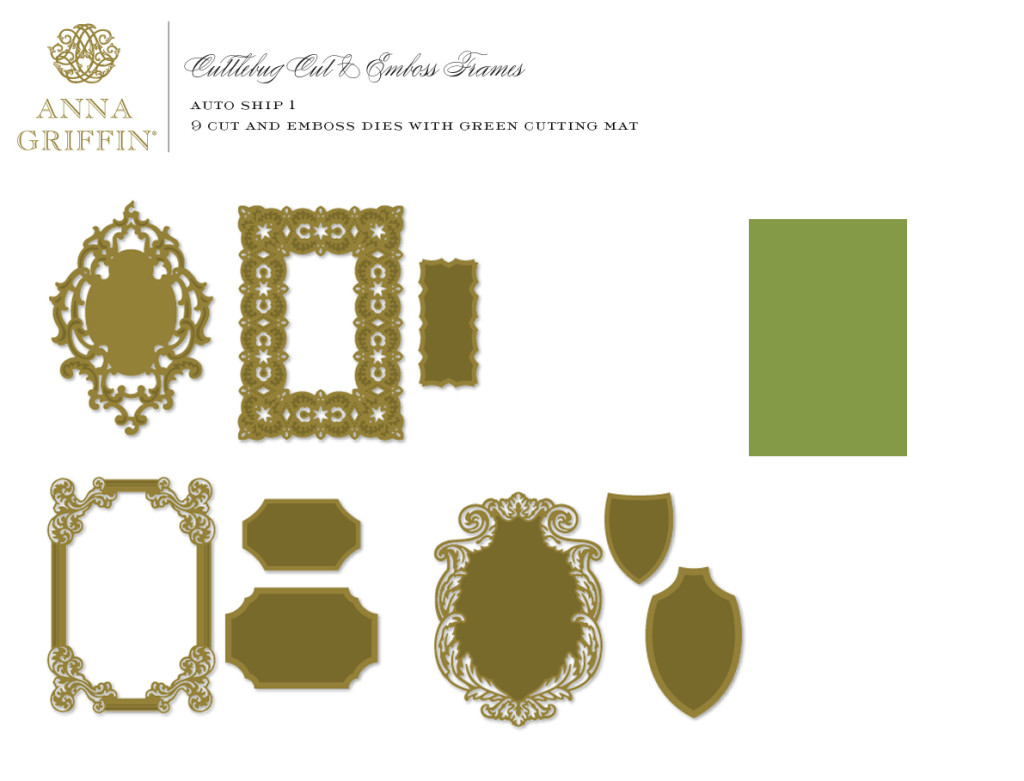 Cut and Emboss Frames AS 1