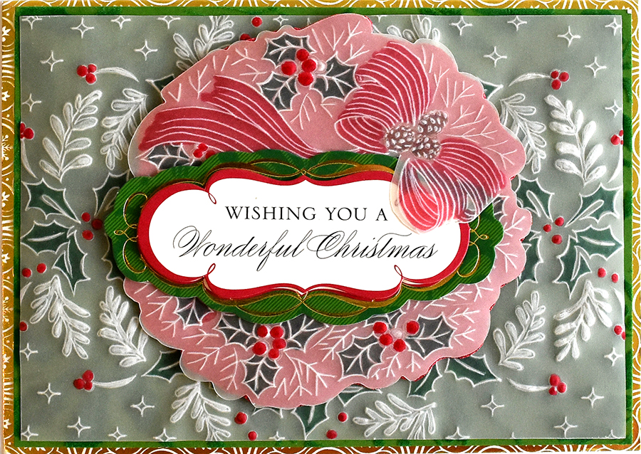 How To Festive Christmas Parchment Cards Anna Griffin