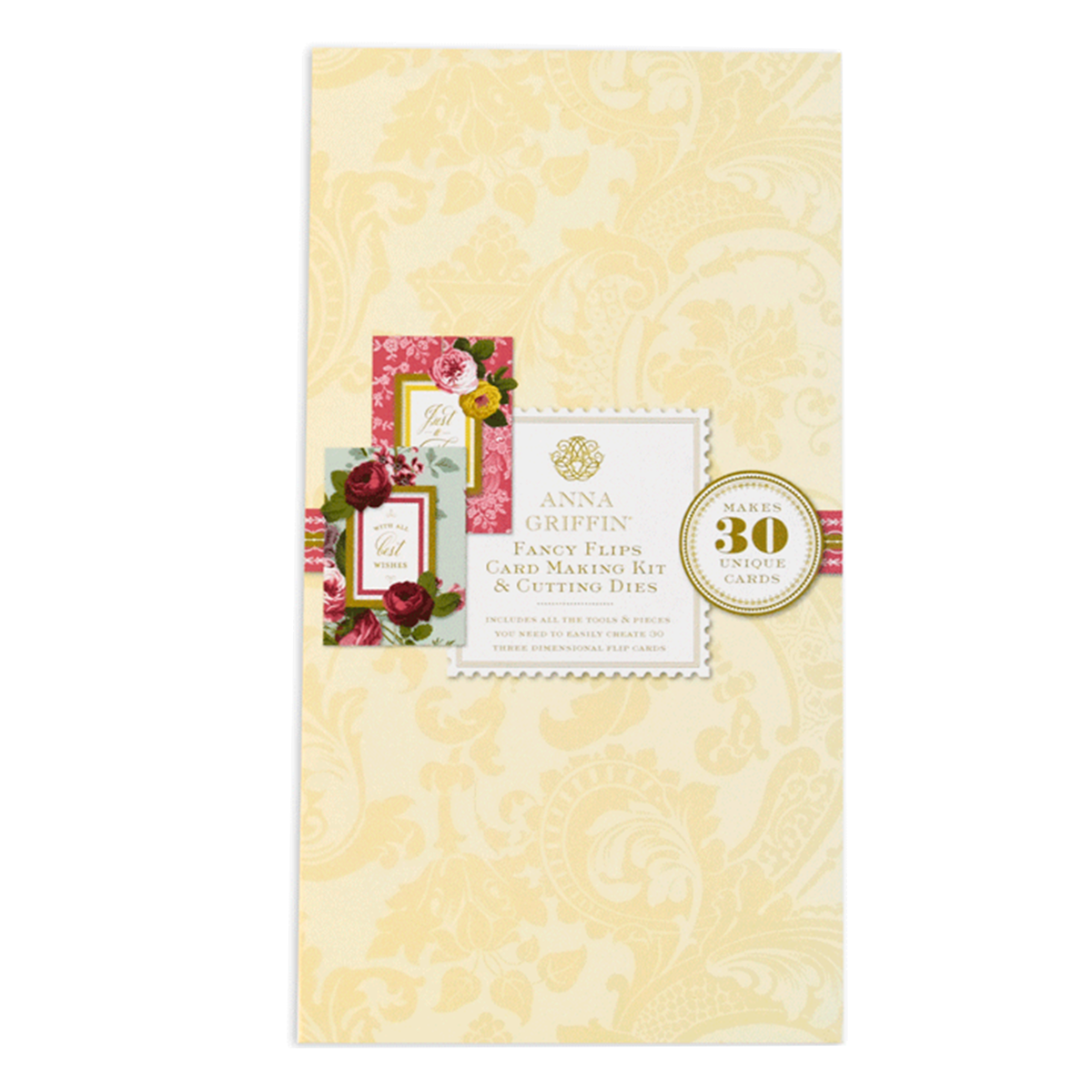 Card kits archives anna griffin fancy flip card kit with dies m4hsunfo