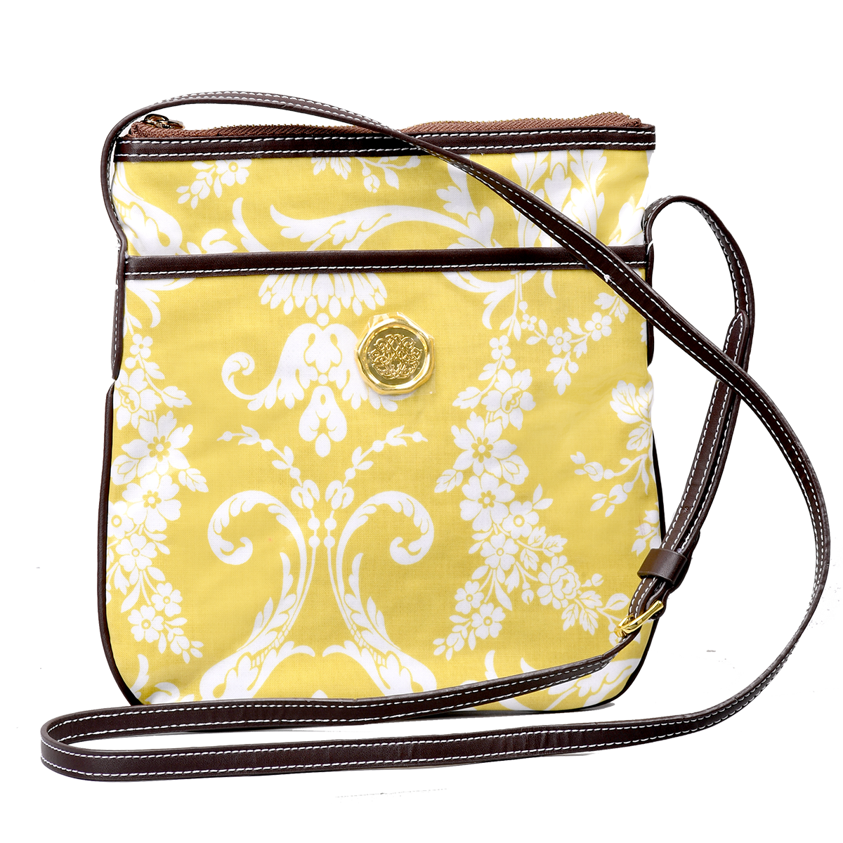 d6e3292fbd Amelie Damask Crossbody Bag - Anna Griffin