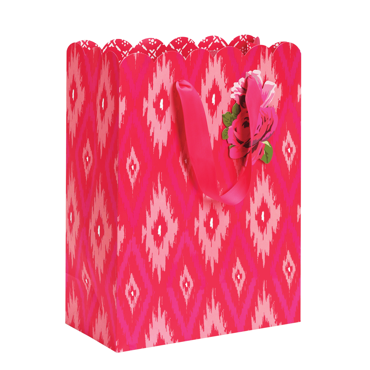 Pink Ikat Large Gift Bag
