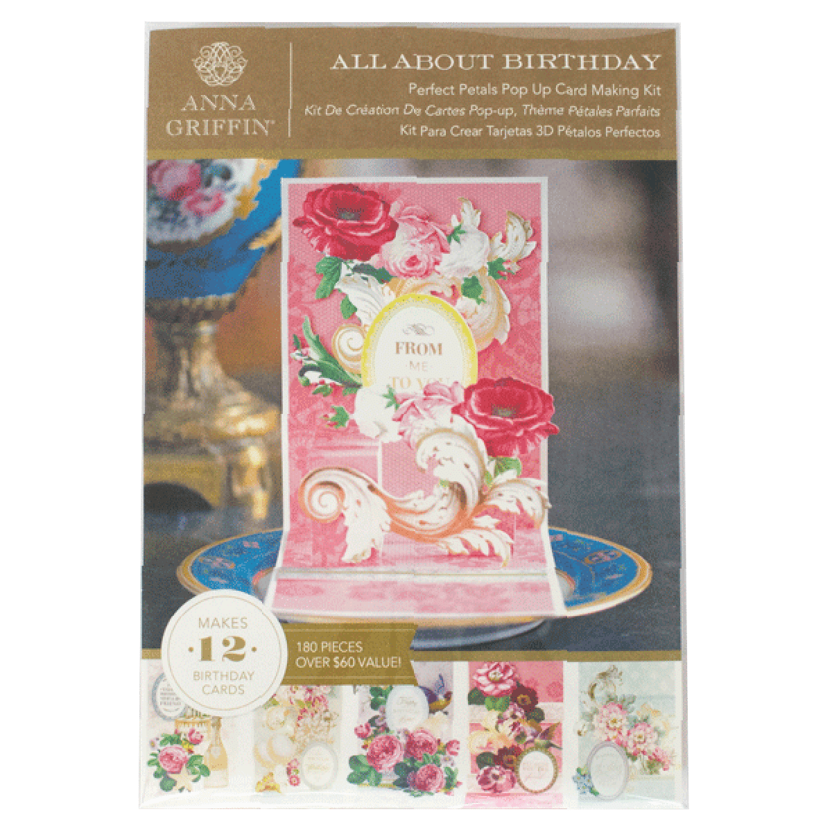 Petals Pop Up Card Kit All About Birthday