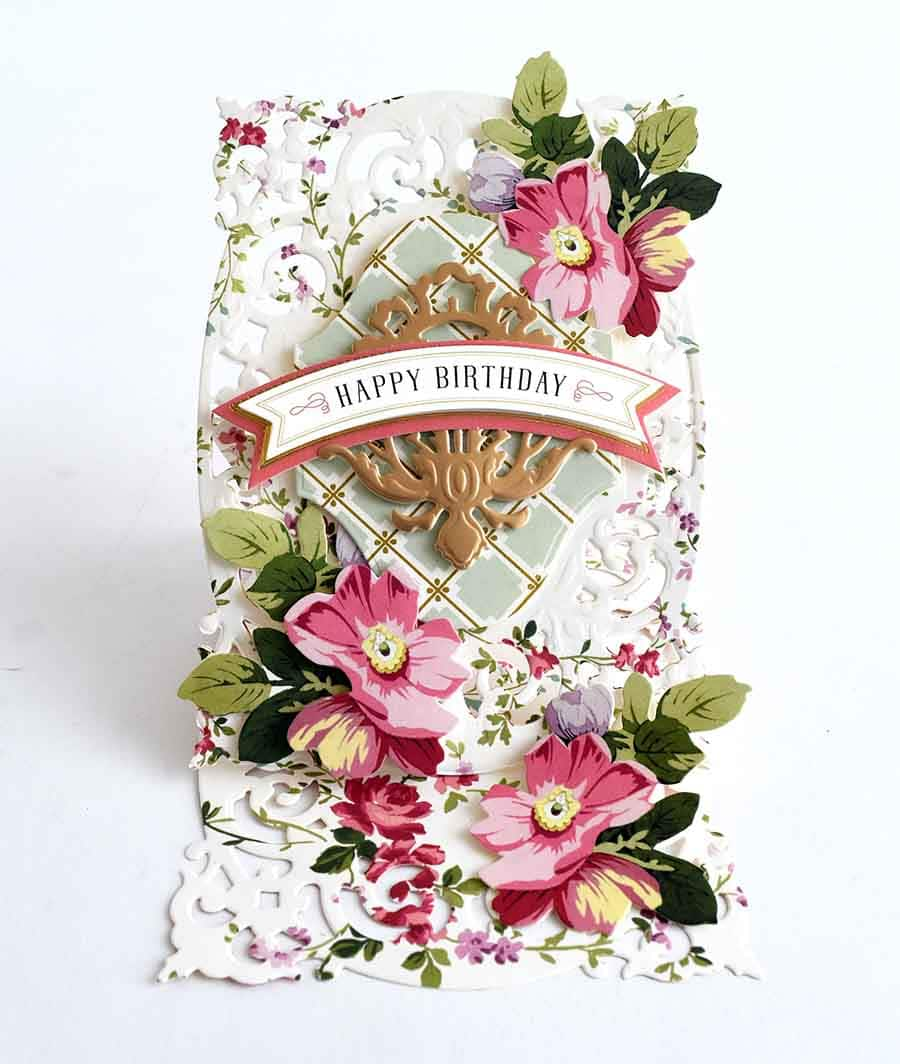 How To Fancy French Frame Easel Card Anna Griffin