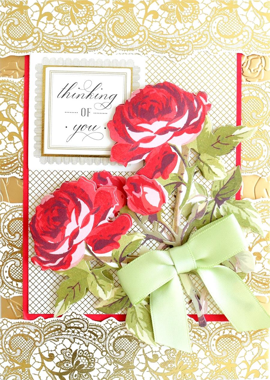 1000 Pearlised Ripple Flower Flat Back Scrapbooking Embellishment