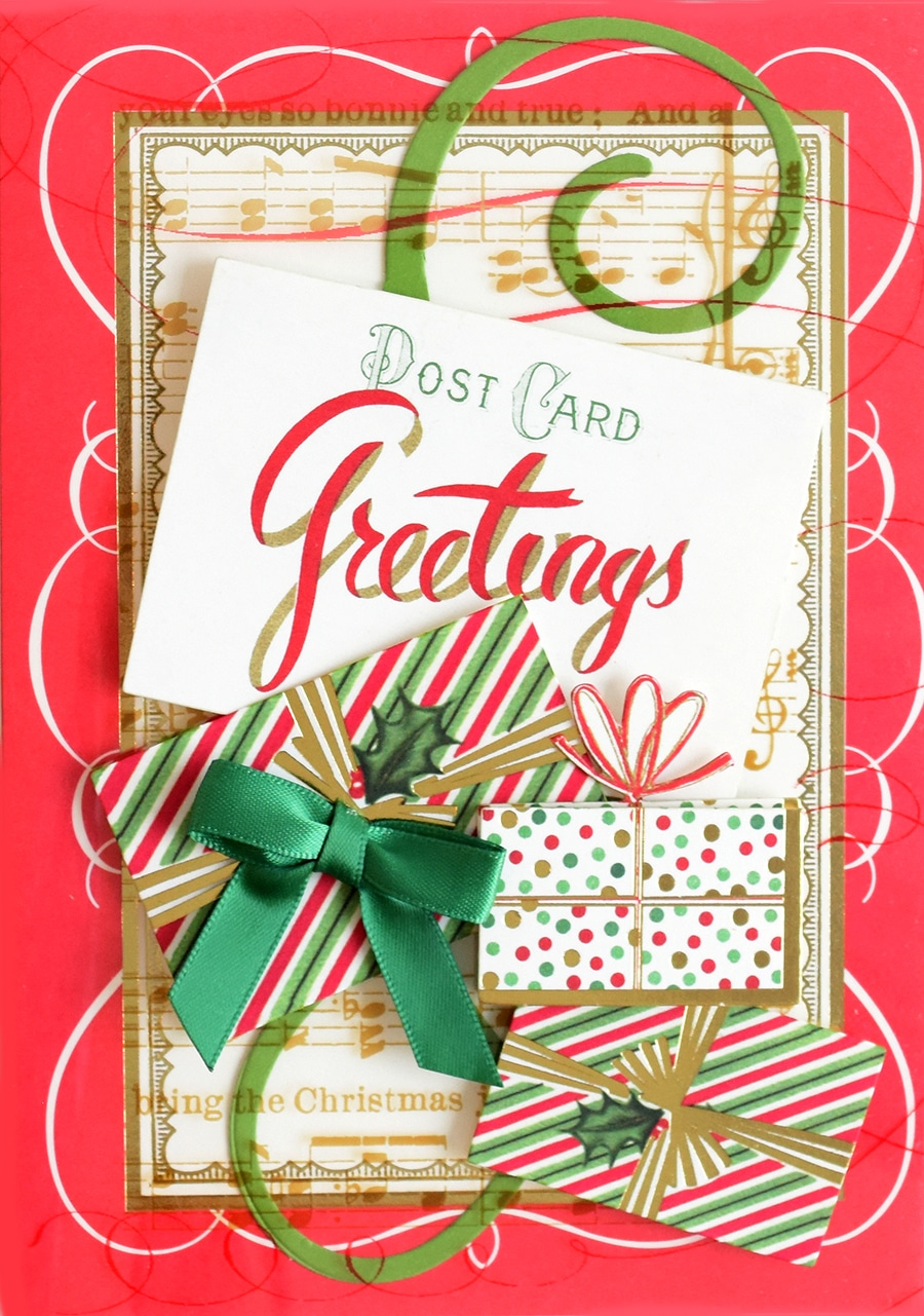 Icreate4annagriffin Contest Week 3 Christmas Acetate Cards
