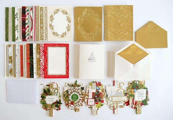 Christmas Collage Card Making Kit