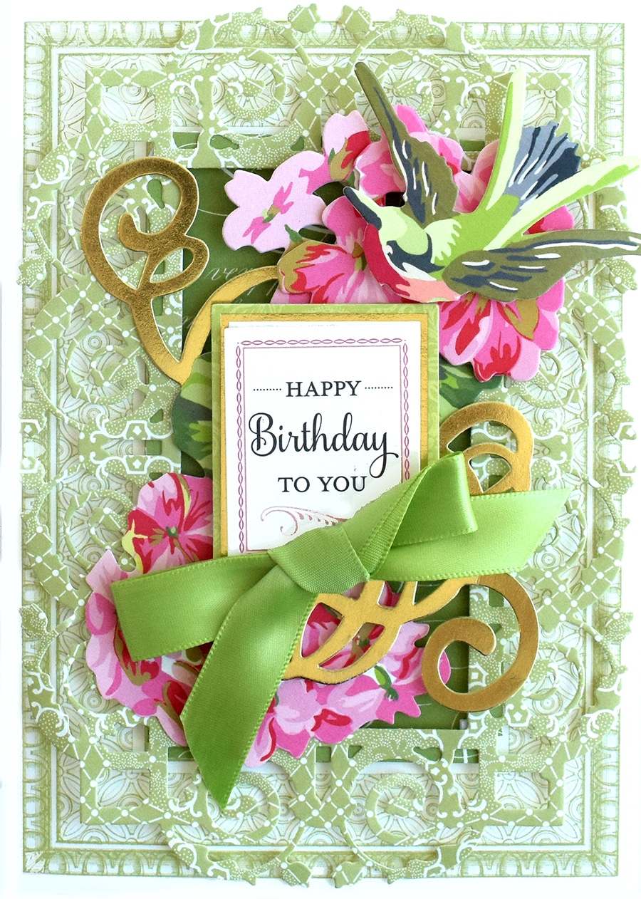 PACK 2 HAPPY BIRTHDAY SHOP TIL YOU DROP TOPPER EMBELLISHMENTS FOR CARDS//CRAFTS