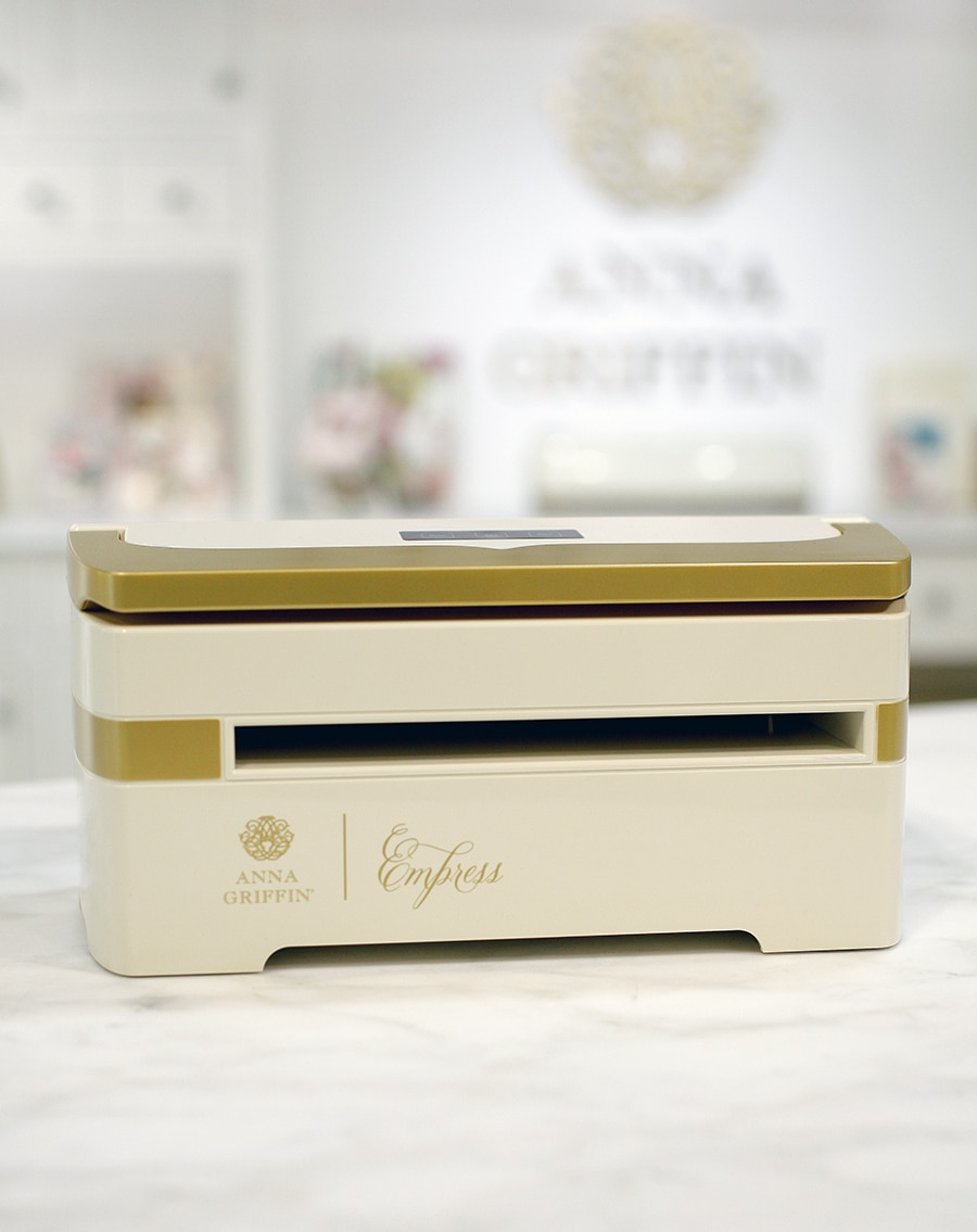 Hsn October 9th 2018 Product Preview 5 Anna Griffin Fitti Rainbow Regular S 12x12 12 Bags Our Lovely Machine Comes With The Plates You Need Dies And Even A Gorgeous Embossing Folder Beautiful Ivory Gold Is Just Thing For Your