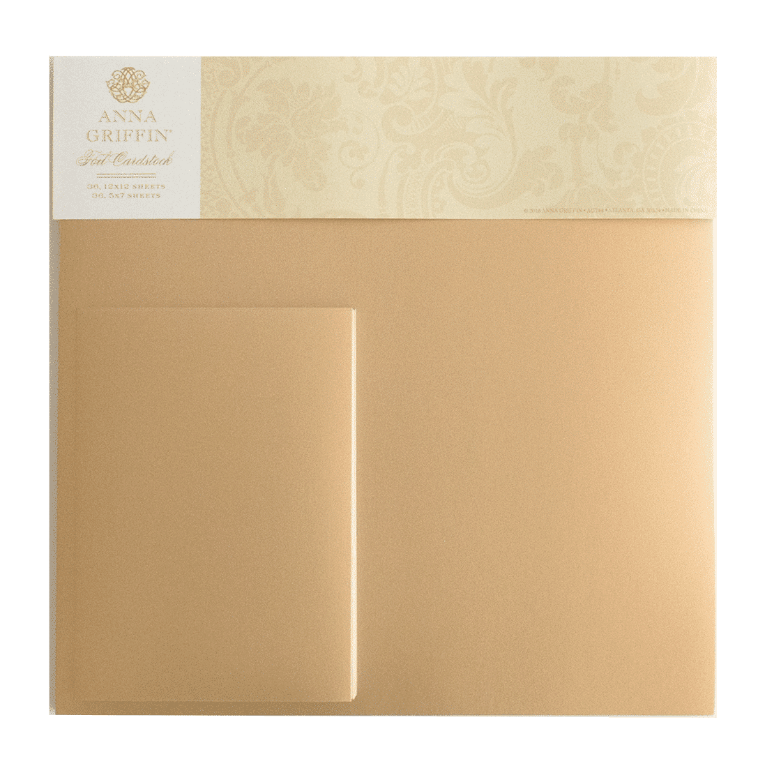 Foil Matte Cardstock Bundle, Rose Gold
