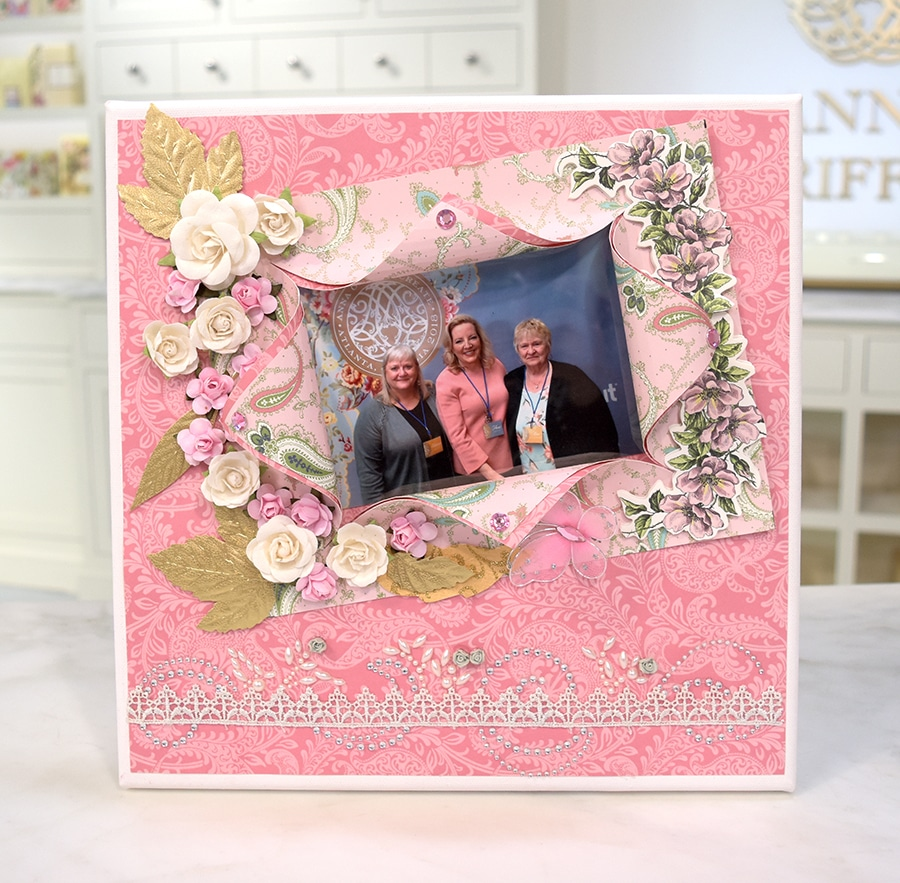 7fcd0da8e80 Kimberly and Irene, this canvas is beautiful beyond words! Thank you for  sending such wonderful Create memories!