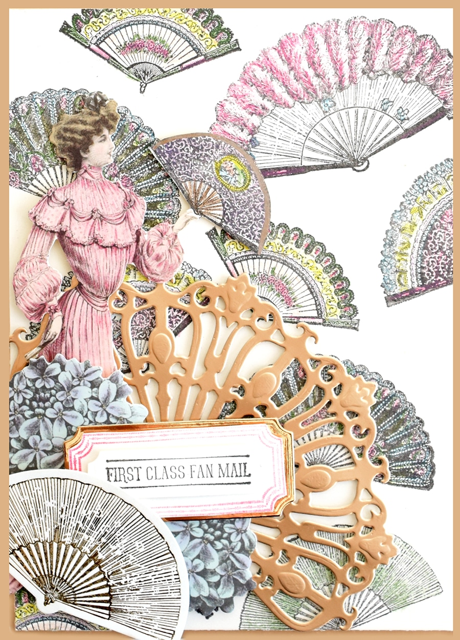 3edeea54dd372 You can create endless fan shaped embellishments and sentiments for all  occasions. Sentiments include Happy Birthday from your Biggest Fan