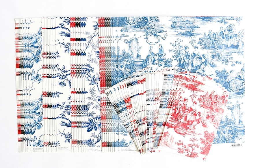 6cb702d1bdb9 Because toile is so intricate and lovely, we created just the thing to pair  with our pretty papers. Our Toile Embellishment Kit contains 48  embellishments ...