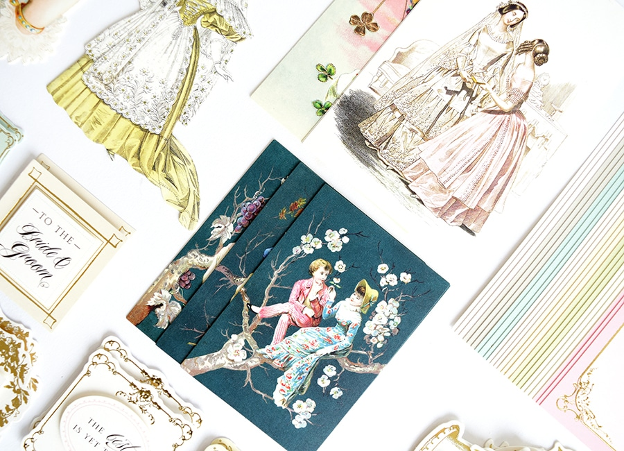 wedding card toppers kit  anna griffin