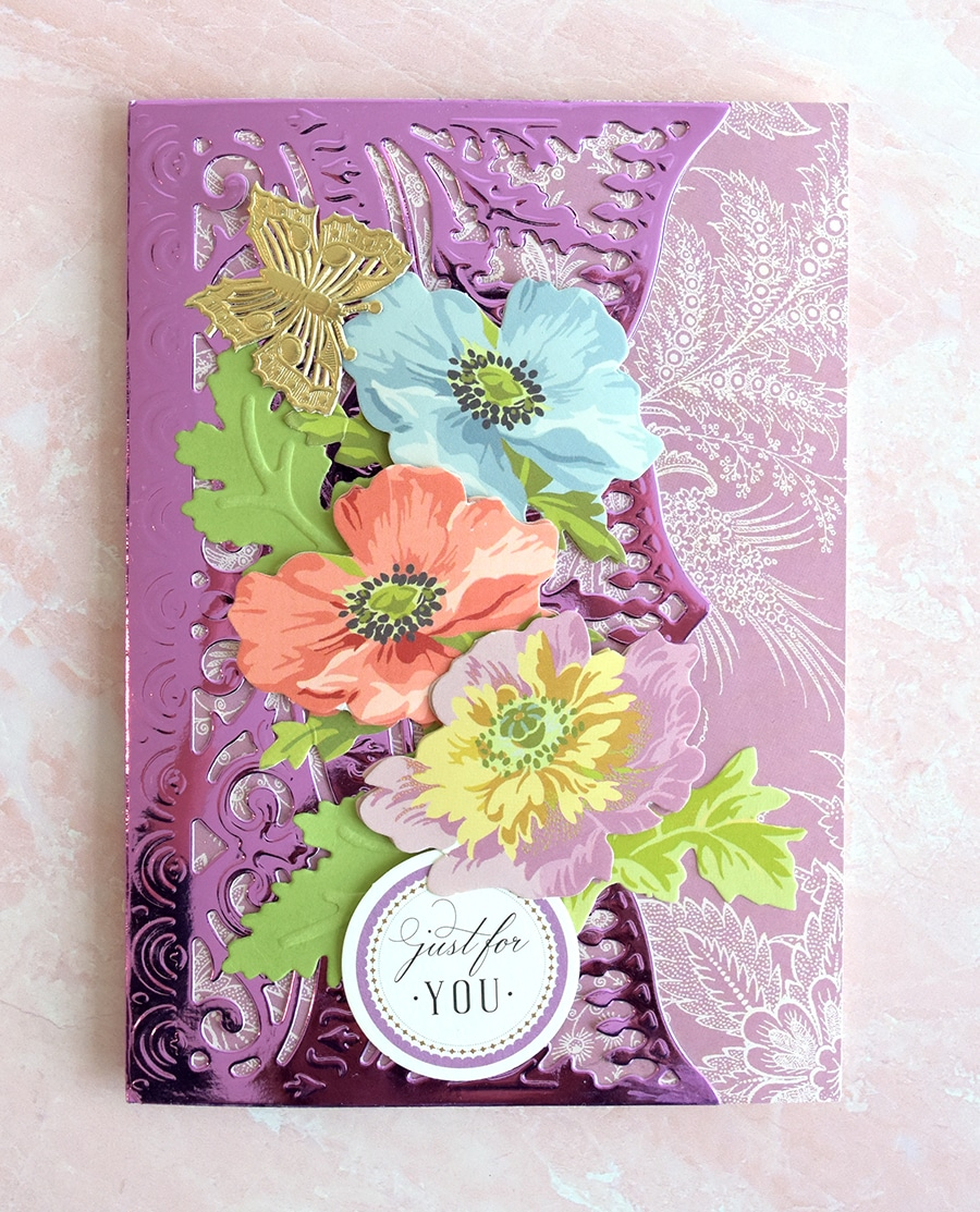 63f19788971 We loved Skyping with you, Trish! It was so much fun to see you, and we  adore this pretty card!
