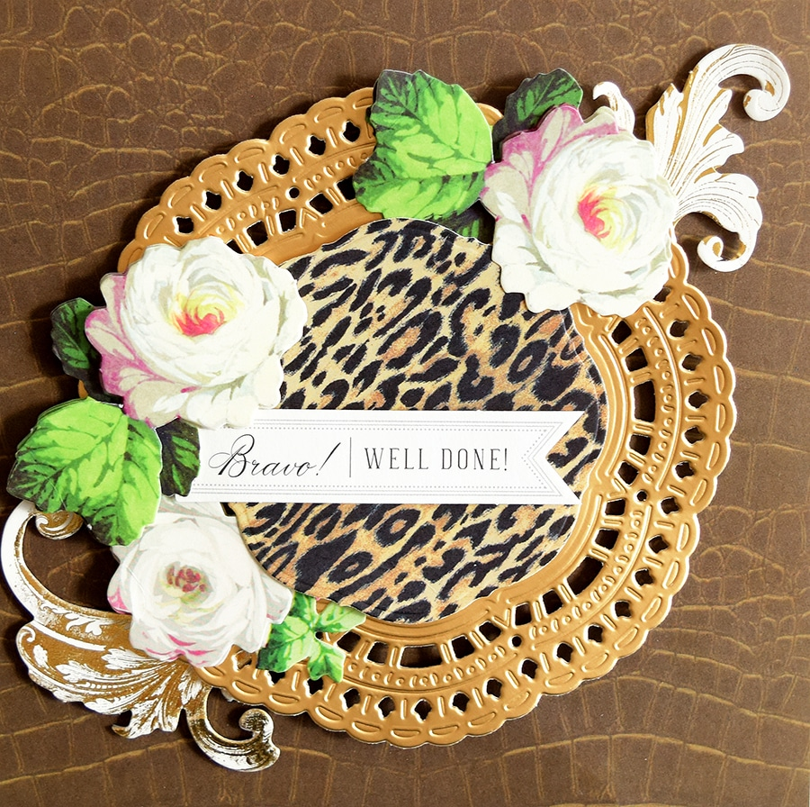 Caravan Four Color Strokes Bring This Flower To Life On This Medium Headband 4