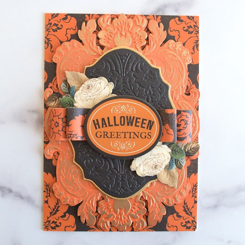 Halloween Cut and Emboss Folders Made Easy!