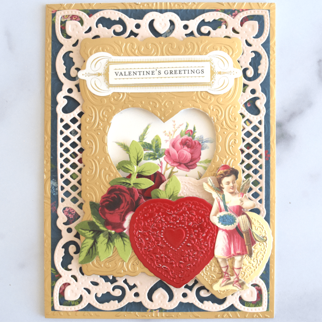 Valentine Cut and Emboss Folders Made Easy